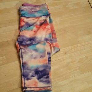 RBX Rainbow Cloud Capri Leggings